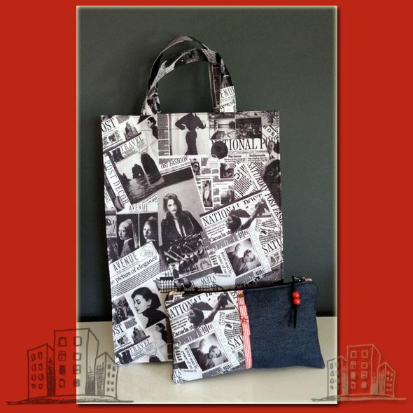 Conjunto Estuche y bolsa