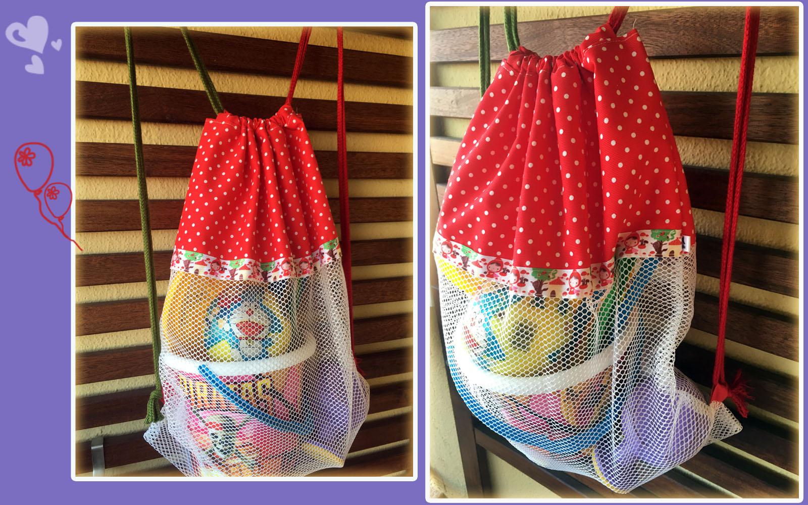 mochila de playa